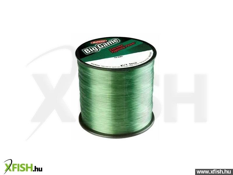 Berkley Big Game Green monofil zsinór 1/4 lb 1000m 0.30mm