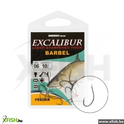 Excalibur Horog Barbel Feeder Ns 2 8 Db/Cs