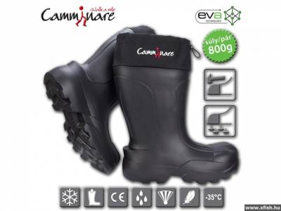 Camminare Syberian Short Boots - thermo gumicsizma -35 C méret: 44