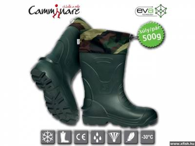 Camminare Voyager Camo Boots - thermocsizma -30oC méret: 44