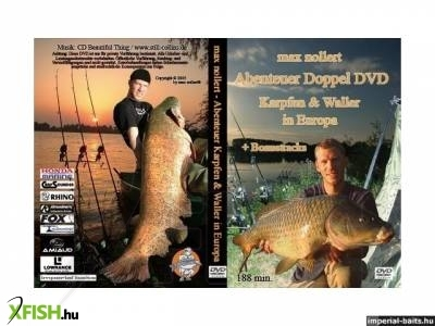Horgász DVD: Doppel DVD Karpfen The Story about Crazy Lake