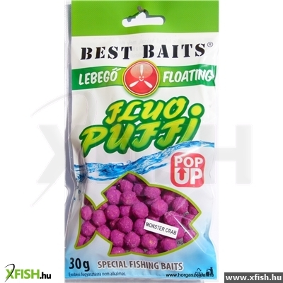 Best Baits Fluo Puff monster crab 5mm 30g