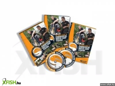 Horgász DVD: Guru Guide To Commercial Carp Waters Boek en DVD