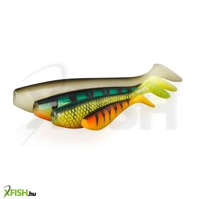 FOX Zander Shad Bulk 4 / 10cm Lemon Tiger