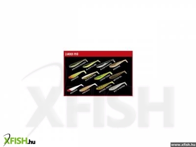 Fox Rage Zander Shad Bulk 7.5cm - Red Head
