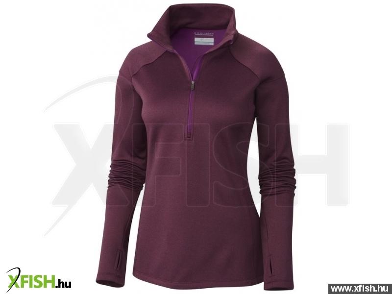 Columbia 1623911 Saturday Trail HZ Shirt XL 575 - Plum Női - Felsők - polár 1ffa94dcf3
