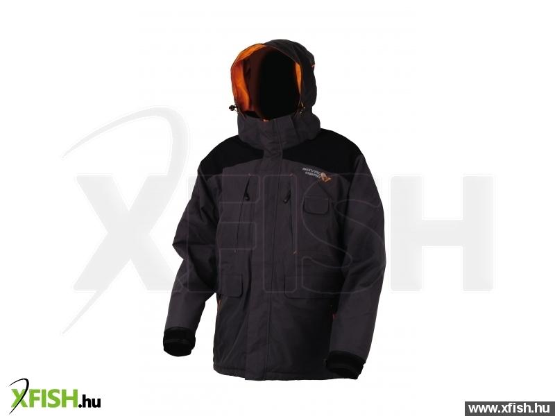 -3 778 Ft Savage Gear Proguard Thermo Jacket Black Grey L Thermo Kabát ddabee1f48