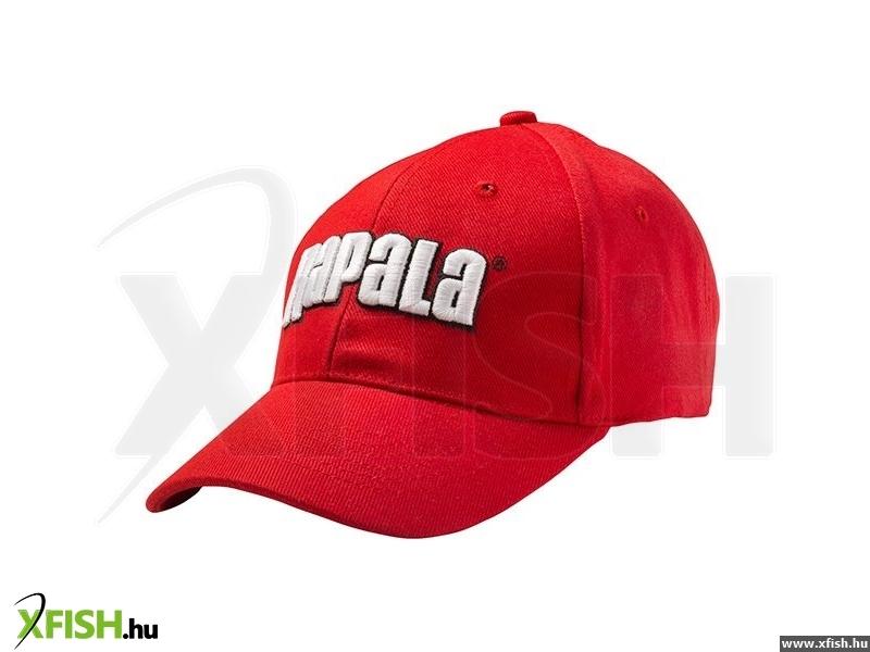 Rapala Sapka Piros Fehér Nagy Rapala Felirattal  14d47f570a
