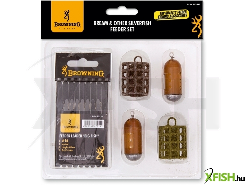 Browning Bream & Other Silverfish - Feeder Készlet (barbed)