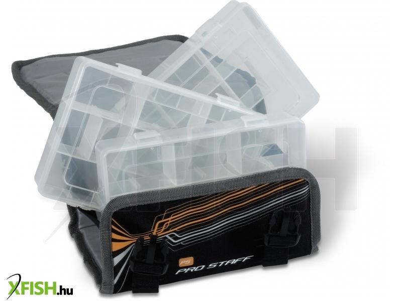 Zebco Pro Staff Lure Keeper Bag Kis Méretű Pergető Horgász Táska 12b2daa86b