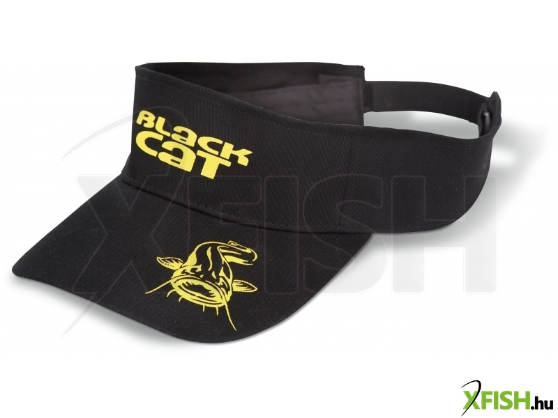 Black Cat Visor sapka 100% Cotton  456aefdee1