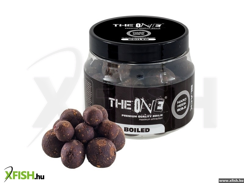THE ONE BLACK HOOK BOILIES BOILED 14/18/20MM MIX