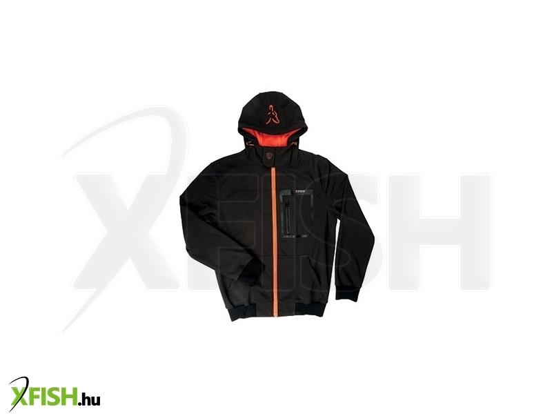 1a71b6d63a Fox Softshell Kapucnis Felső Hoody Black/Orange - Xx Large