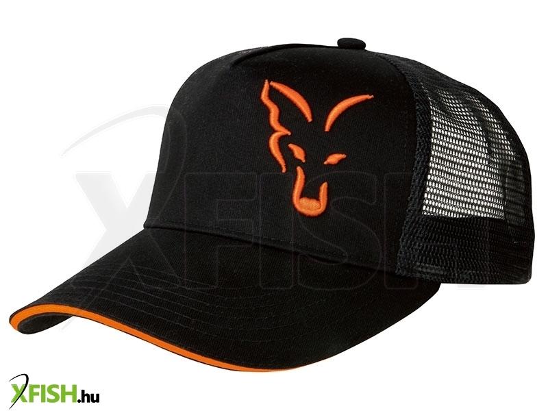 Fox Black Orange Trucker Sapka  8189ef7869