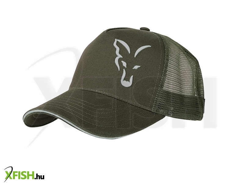 875a62b5a6 Fox Green/Silver Trucker Cap sapka   Horgász Ruházat   Sapka