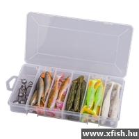 Savage Gear Fat Minnow T-Tail Kit 30+6Pcs Műcsalis Szett