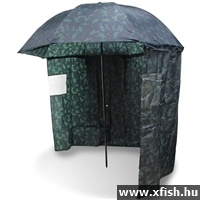 NGT Camo Brolly With Sides Sátras ernyő 45 - 2,20m