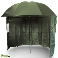 NGT Green Brolly with Zip on Side Sheet 45 Sátras ernyő 220 cm