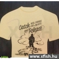 Zadravec Catch And Release T-Shirt Póló Beige (S) f2b984ddaa