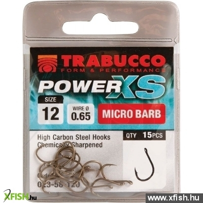 Trabucco Power XS 12 15db/csg, feeder horog