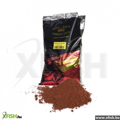King Baits Etetőanyagok - MethodX Széria 1kg Red Force