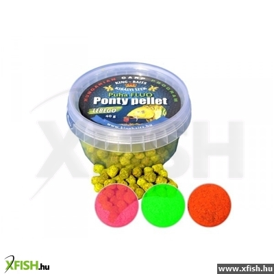 King Baits Puha Fluo Ponty Pellet 40g Monster Crab