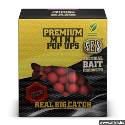 Sbs Premium Mini Pop Ups 20 G 8 Mm Krill & Halibut
