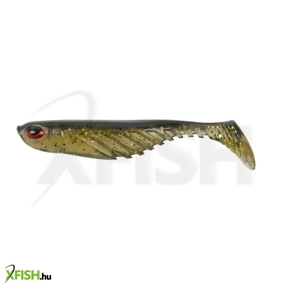 PowerBait Ripple Shad 2in | 5cm Holographic Gold Black Back 8 Half Bag