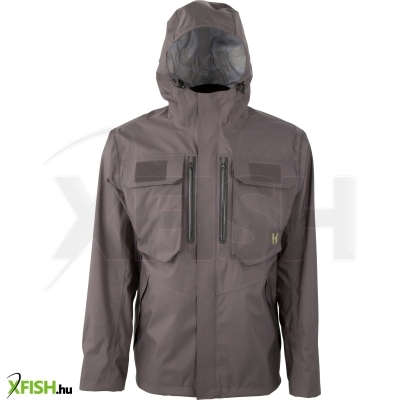 Hodgman Aesis™ Shell Jacket Mens S Charcoal/Black Polyester Jackets Shell