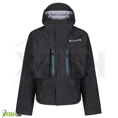 Greys Cold Weather Wading Jacket Unisex L Carbon Climatex Jackets