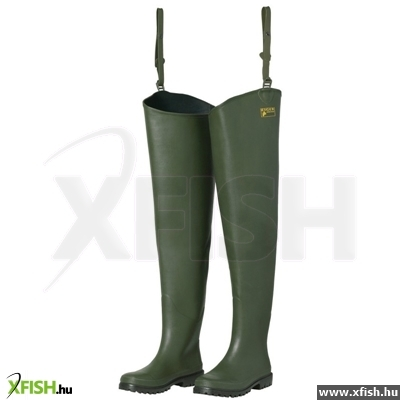 Eiger Rubber Hip Wader Deluxe 45 - 10 (Neo Lining)