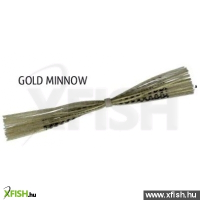 Rapture Spare Skirt Spinner & Jig Gold Minnow 1 Db, Gumi Szoknya