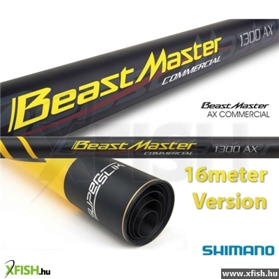 Shimano Beastmaster Ax Commercial 1300 Rakósbot Pack (Bmaxco130P)