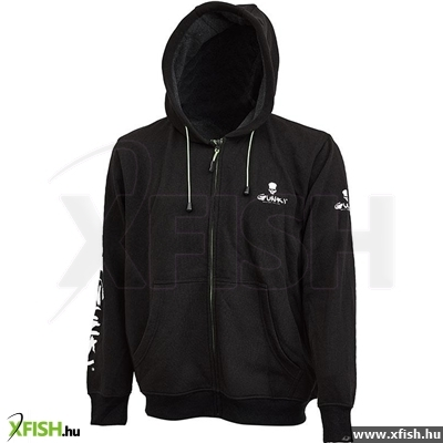 Sweat Zip Double Gunki Kapucnis Felső M 65282c066c