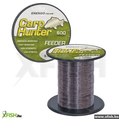 Zsinór Carp Hunter Feeder 600M 0.16Mm