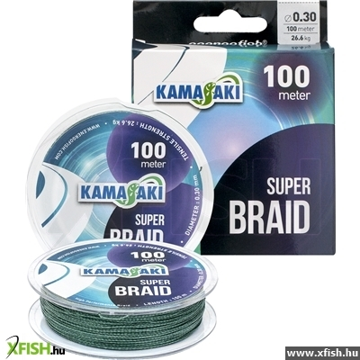 Zsinór Kamasaki Super Braid 100M 0.10Mm