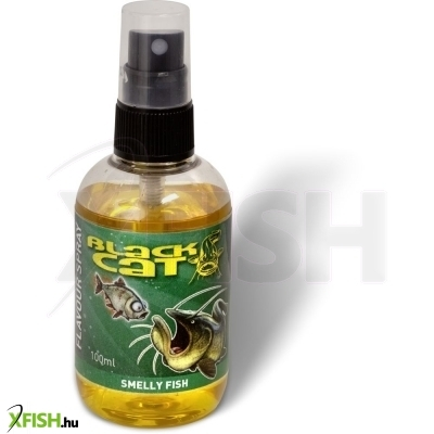 Black Cat Flavour Spray sárga Smelly Fish 100ml harcsázó aroma spray