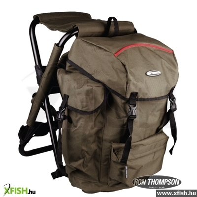 Ron Thompson Heavy Duty Backpack Hátizsákos Kemping Szék 360 Degrees (34X32X51Cm)