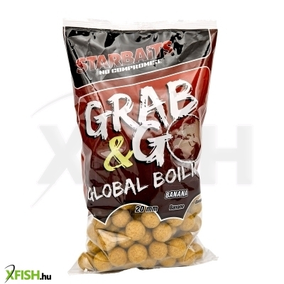 Starbaits Grab & Go Global Bojli 20Mm 1Kg Banana Cream