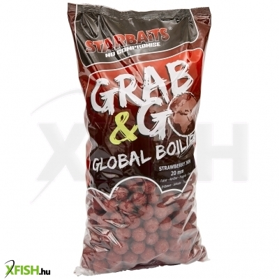 Starbaits Grab & Go Global Bojli 20Mm 1Kg Strawberry Jam