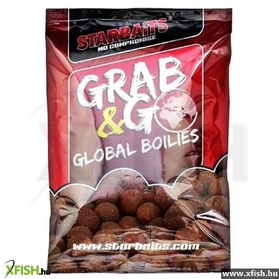 STARBAITS GRAB & GO GLOBAL BOILIES 20MM 1KG SQUID& OCTOPUS