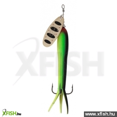 Savage Gear Flying Eel Spinner Körforgó Villantó #3 23G 10-Green Highlander