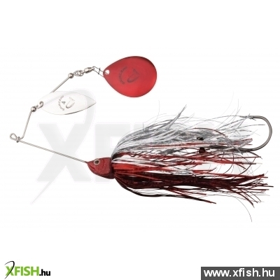 Savage Gear Da'Bush Spinnerbait Villantó 32G #3 Red Silver Flash