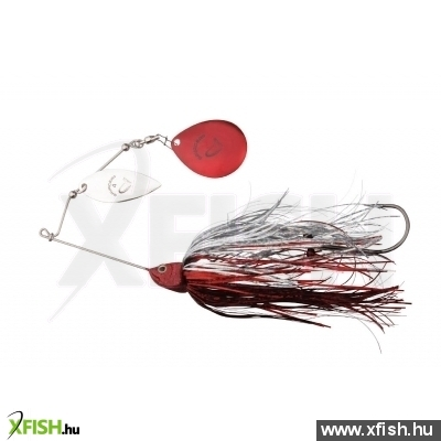 Savage Gear Da'Bush Spinnerbait Villantó 42G #4 Red Silver Flash