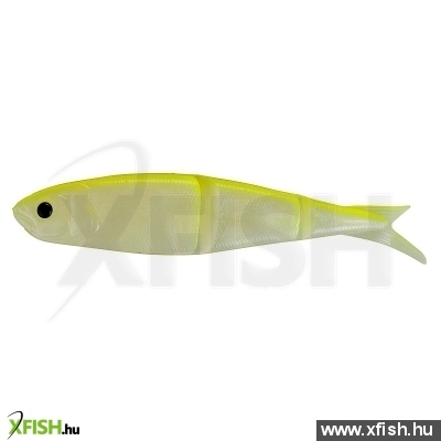 Savage Gear Lb Soft 4Play Gumihal 8Cm Swim&Jerk 44-Fluo Yellow Glow