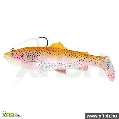 Savage Gear 3D Trout Rattle Shad Gumihal 12,5Cm 35G 02-Golden Albino Rainbow