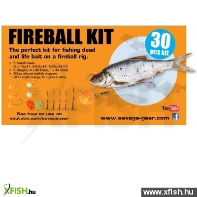 Savage Gear Fireball Pro Pack Kit 30Pcs Műcsalis Szett