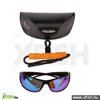 Savage Gear Evil Eyes Polarized Napszemüveg - Amber (Sun And Clouds)