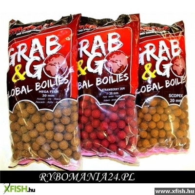 STARBAITS GRAB & GO GLOBAL BOILIES 20MM 2,5KG TIGERNUT