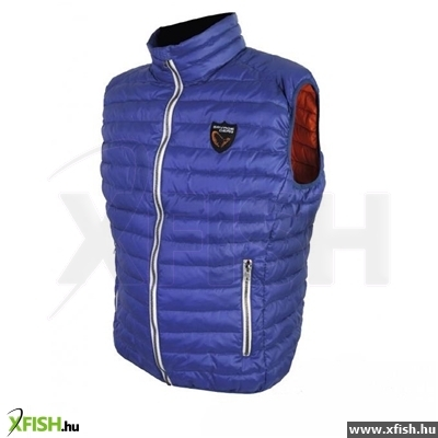 Savage Gear Orlando Thermo Lite Vest Blue Xl Divatos Mellény